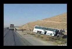 Afganistanda otobüs ve tanker çarpıştı