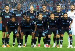 Trabzonsporda 4 haftada 20 futbolcu forma giydi