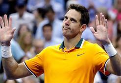 Tek erkeklerde final: Del Potro - Djokovic