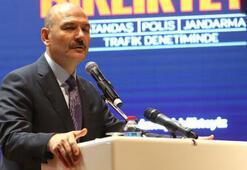 İçişleri Bakanı Soylu: Direksiyon başında telefonu bitireceğiz