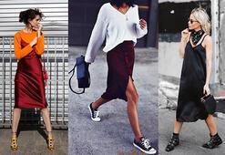 Trend: Saten elbise