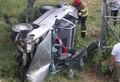 Balıkesirde trafik kazası: 2 yaralı