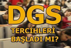 DGS tercihleri başladı mı Binlerce adayın gözü ÖSYMde...