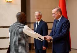Cumhurbaşkanı Erdoğan, Burkina Faso Büyükelçisini kabul etti