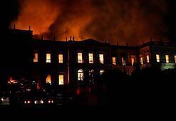 Brezilyada yanan 200 yıllık müzenin yeniden inşası için kaynak aranıyor