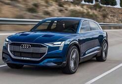 Audi, ilk elektrikli SUV modeli E-Tronun üretimine başladı