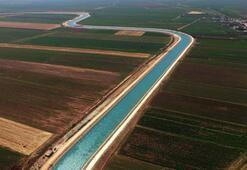 Bereketli topraklar suya kavuşuyor