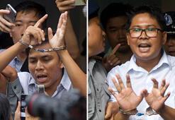 Myanmardaki Reuters muhabirlerine yedişer yıl hapis