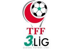 TFF 3. Ligde toplu sonuçlar