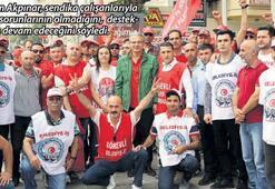 'El ele iş barışını sağladık'
