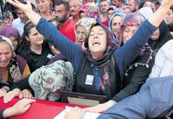 Türkiye, şehitlerini dualarla uğurladı