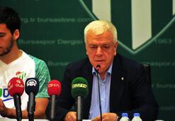 Bursaspor Başkanı Ali Aydan Grosicki ve Harun Tekin açıklaması