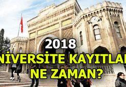 Üniversite kayıt tarihi ne zaman başlayacak Üniversite kayıt ve başvurusu...