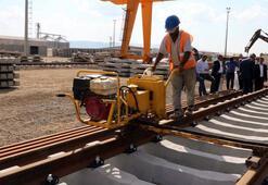 Ankara-Sivas YHT ray serim çalışmaları devam ediyor