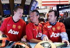 Manchester Unitedın hisseleri rekor kırdı