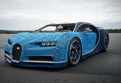 LEGO bir milyonun üzerinde parçadan gerçek boyutta Bugatti Chiron yaptı