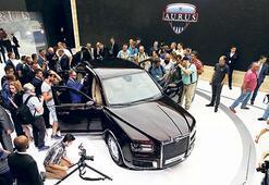 Rusların otomobil şovu göz kamaştırdı