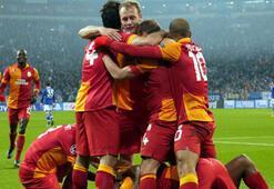Schalke 04ten Galatasaray paylaşımı