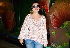 Pınar Eczacıbaşı saç bakımı yaptırdı
