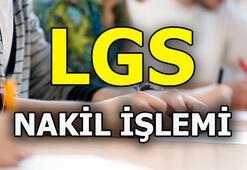 LGS nakil işlemi nasıl yapılır E okul giriş