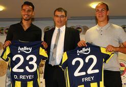 Fenerbahçe, Frey ve Reyesle sözleşme imzaladı