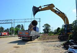 Cevizdere Köprüsü'nün enkazı kaldırıldı Yenisi için çalışmalar başladı...