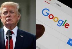 ABD Başkanı Trump Googleın arama sonuçlarını eleştirdi
