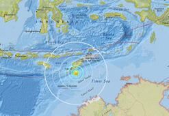 Son dakika... Endonezya açıklarında 6.4 büyüklüğünde deprem