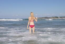Wilma Ellesten bikinili cevap