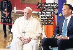 Papa'dan İrlanda'ya taciz skandalı gölgesinde ziyaret