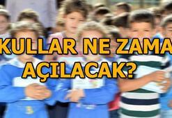 Okullar ne zaman açılacak MEB 2018-2019 eğitim yılı...