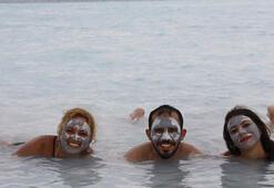 Maldivlere gidemeyen buraya akın etti Saldivler Plajı