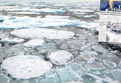 Kuzey Kutbu'nda korkutan kopma