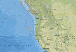 Son dakika... ABD açıklarında 6.3 büyüklüğünde deprem