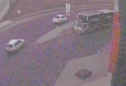 Aracına çarpıp otomobilini gasp ettiler