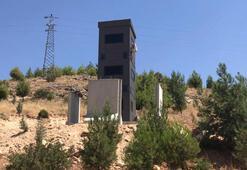 Diyarbakır-Mardin karayolunda zırhlı güvenlik kuleleri ilk kez görüntülendi