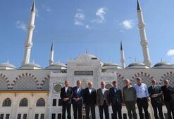 TBMM Başkanı Yıldırım İstanbulda Çamlıca Camisinde inceleme yaptı