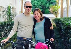 Doğum yapacağı hastaneye bisikletle gitti