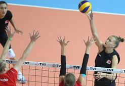 A Milli Kadın Takımı, hazırlık maçında Kanadayı 3-0 yendi