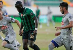 Akhisarspor - Çaykur Rizespor: 1-1