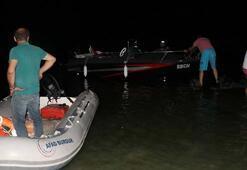 Gece yarısı hareketli dakikalar Teknedeki 2 kişi...