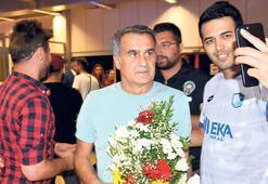 Beşiktaşa çiçeklerle karşılama