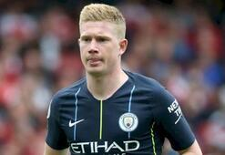 Manchester Cityde De Bruyne 3 ay yok