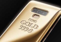 Galaxy Note 9 için saf altından 1 kglık kılıf üretildi