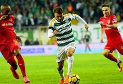 Bursaspor sahasında Kayserisporu ağırlıyor
