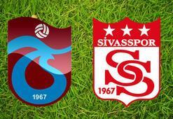Trabzonspor Sivasspor maçı saat kaçta hangi kanalda İlk 11ler belli oluyor...