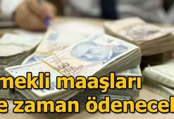 Bayram ikramiyeleri ödeniyor Emekli maaşları ne zaman ödenecek SSK, Bağ-Kur...