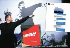 Banksy, sergisini Instagram'dan öğrendi