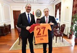 Galatasaraydan Abdulhamit Gül ve Murat Kuruma ziyaret