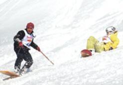 Lazboard snowboard'a fark attı